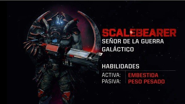 Quake Champions presenta a su campeón Scalebearer