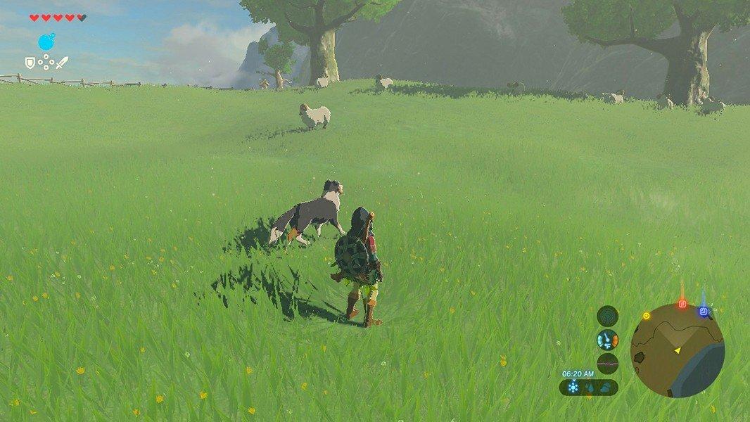 The Legend of Zelda: Breath of the Wild: Cómo encontrar tesoros enterrados