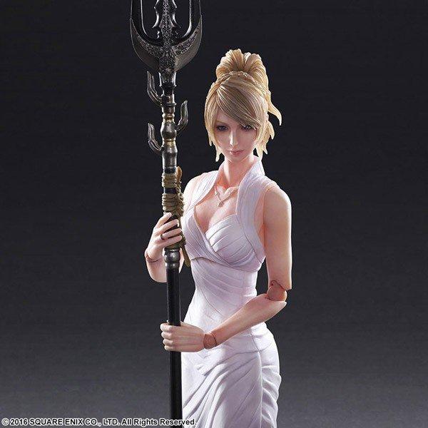 Final Fantasy XV: Play Arts Kai presenta la nueva figura de Lunafreya