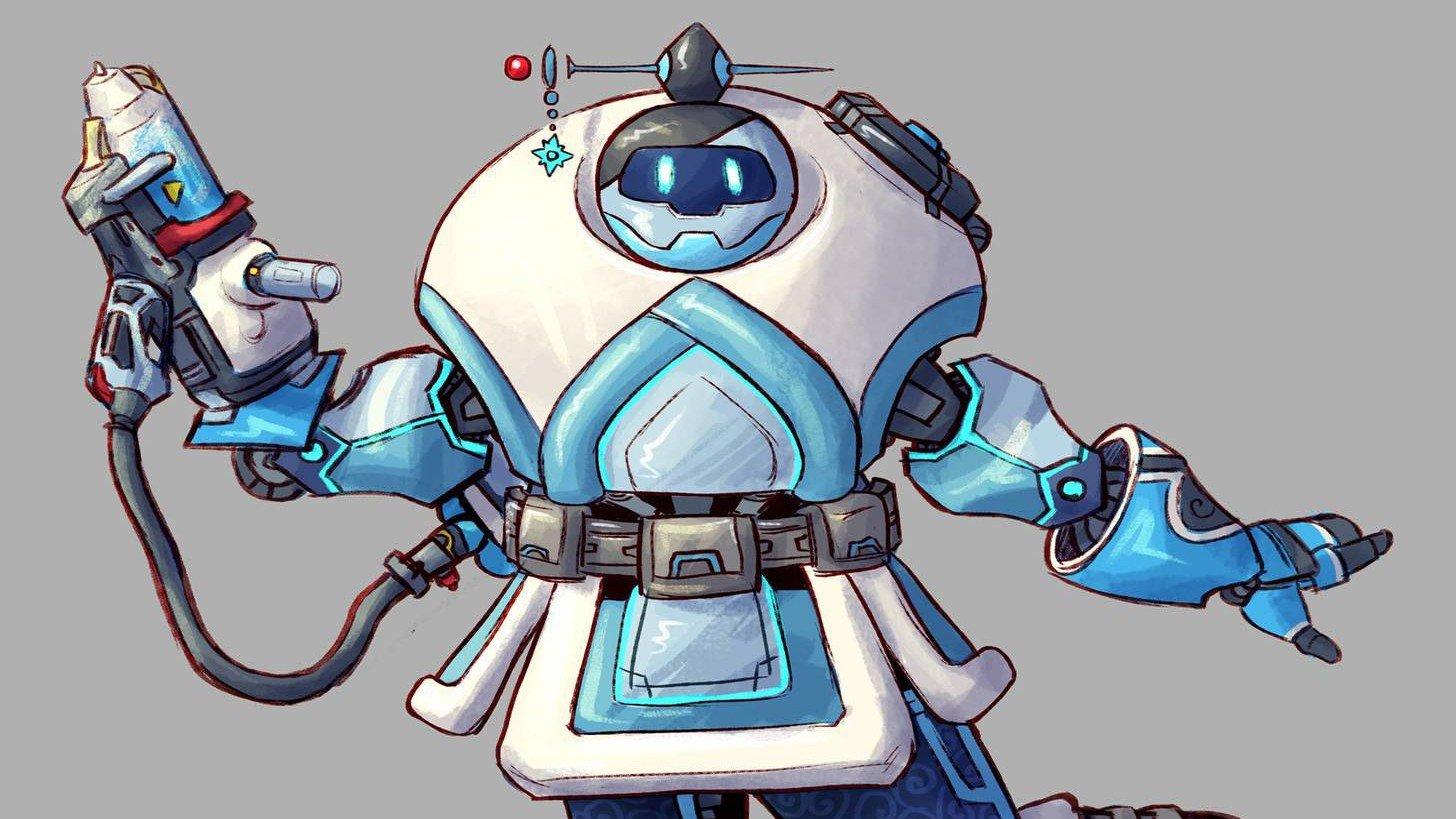Overwatch: Reimaginan a sus héroes como robots