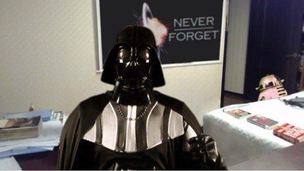 Star Wars: Recrean el viral de BBC con Darth Vader como protagonista