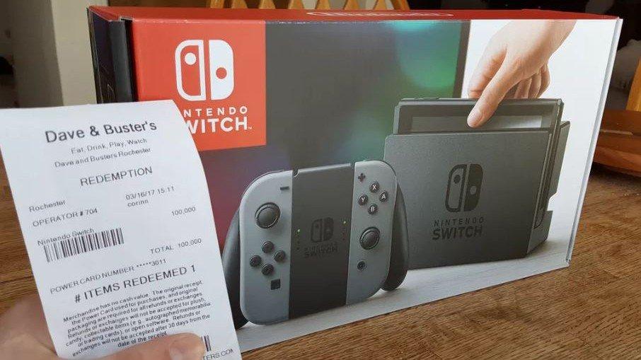 Nintendo Switch: Un afortunado jugador consigue una consola por 50 dólares