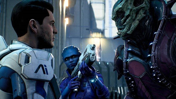 Mass Effect: Andromeda se deja ver en nuevas imágenes