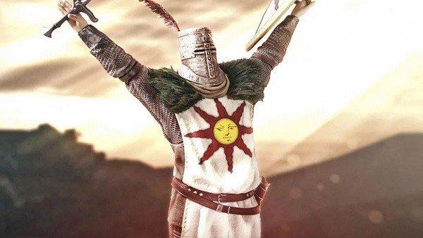 FINDE: Dark Souls presenta las figuras de coleccionista de Solaire de Astora