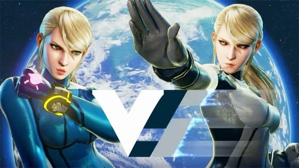 Street Fighter V tiene un mod que incorpora a Zero Suit Samus