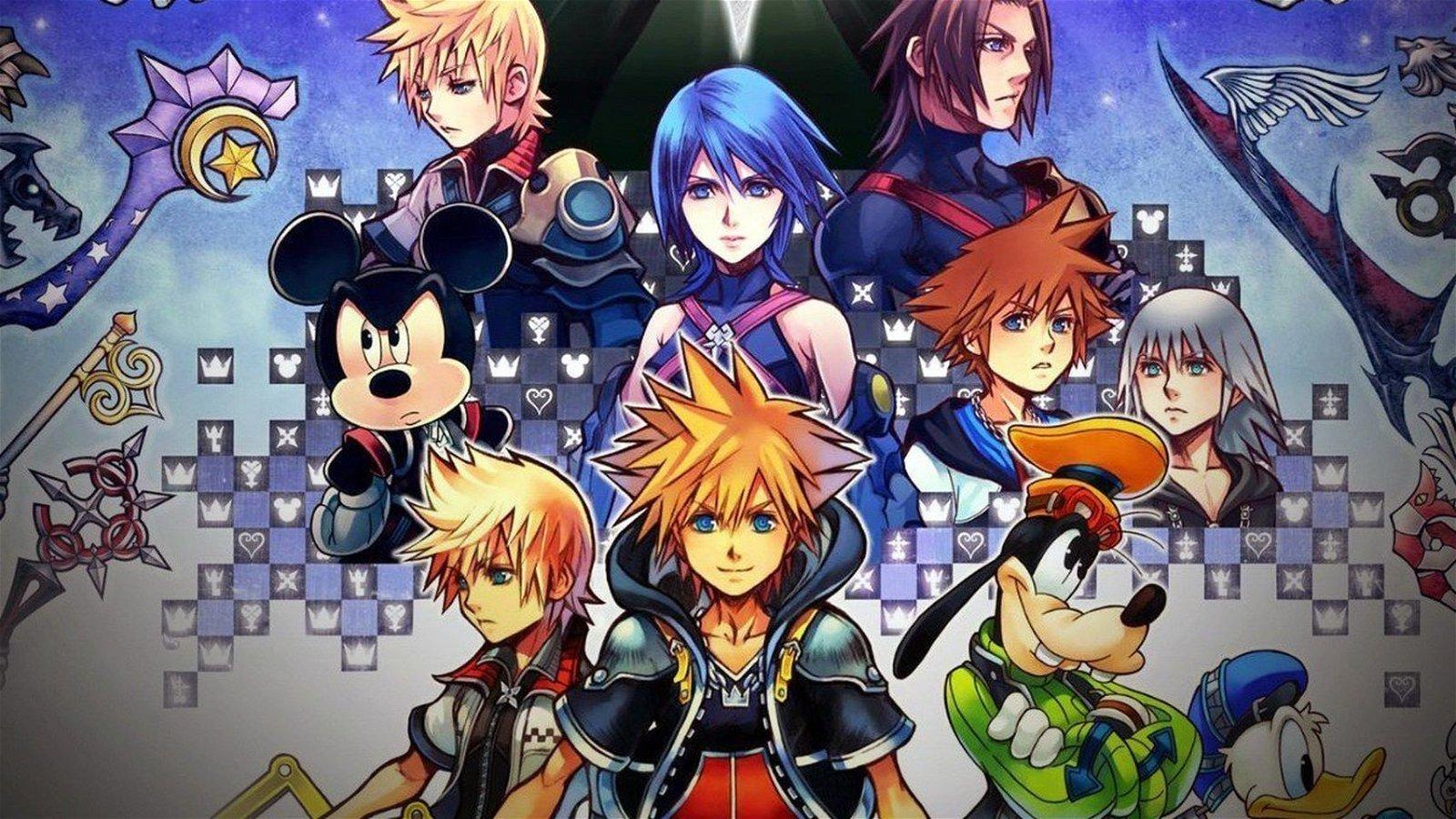 Kingdom Hearts celebra su 15 cumpleaños con una ilustración conmemorativa
