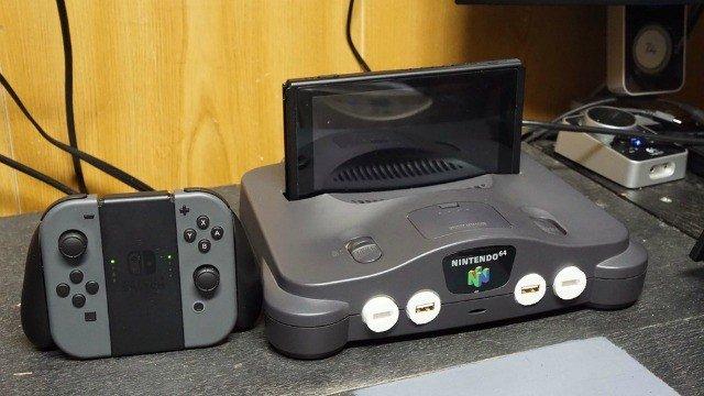 Un modder convierte su Nintendo 64 rota en un dock para Switch