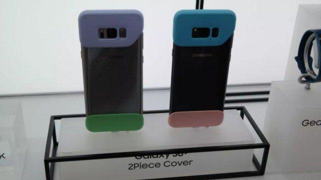 Samsung deja medio Galaxy S8 desprotegido con su nueva funda