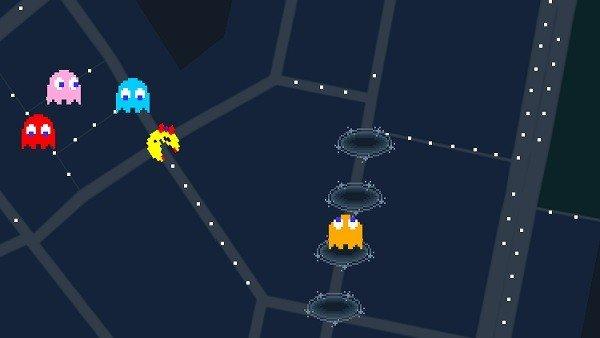 Mrs. Pac- Man te espera en Google Maps para echar unas partidas