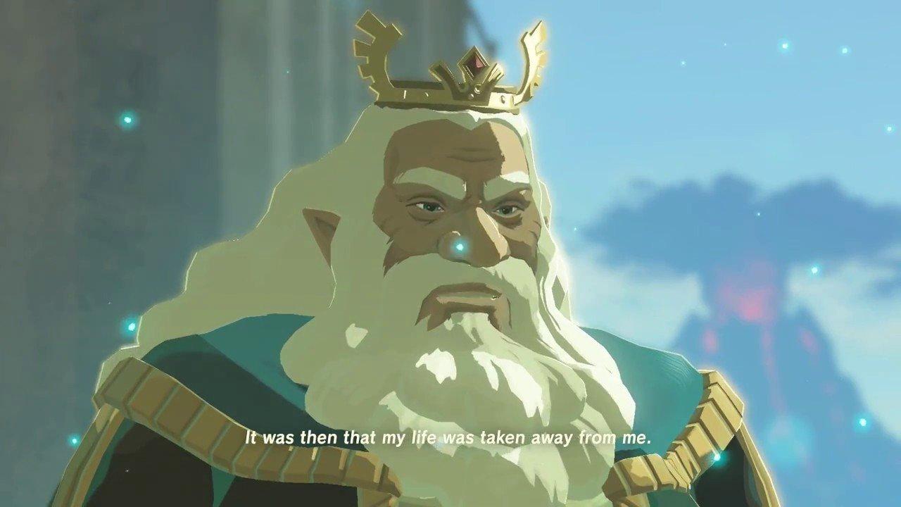 Zelda: Breath of the Wild: Este es el verdadero propósito del Rey Rhoam