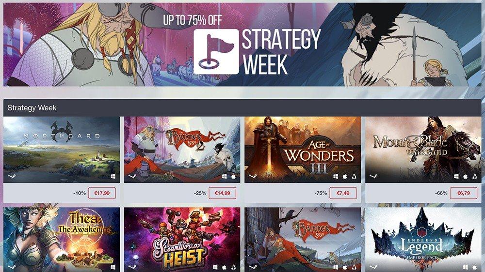 Humble Store ofrece grandes videojuegos de estrategia a precio de risa