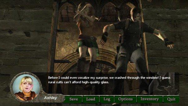 Resident Evil 4: Un fan transforma el juego en una novela romántica