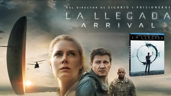 La Llegada: Análisis de la edición en Blu-ray steelbook