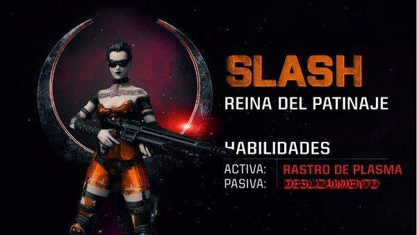 Quake Champiosn presenta a Slash, la reina del patinaje