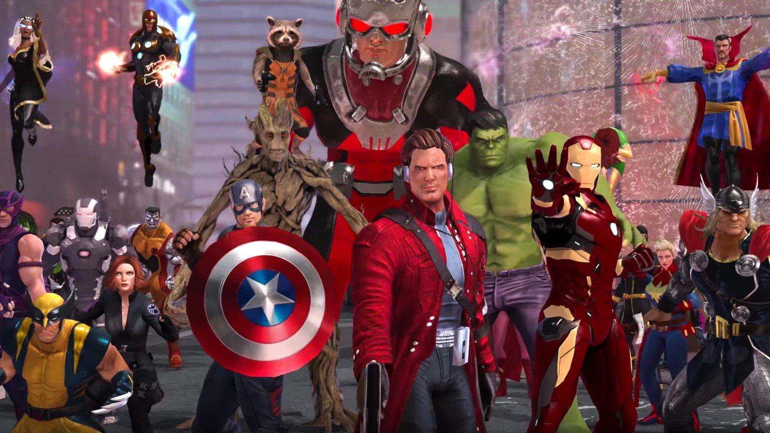 Los superhéroes de Marvel llegarán gratis a PlayStation 4 y Xbox One