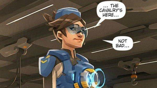 Overwatch: Su último cómic puede haber desvelado nuevas skins