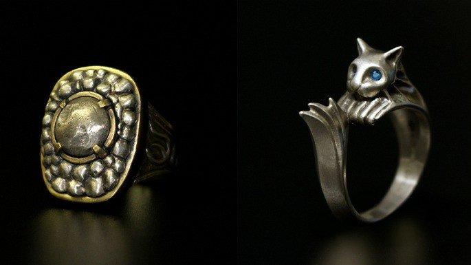 Dark Souls inspira dos espectaculares anillos