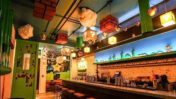 Super Mario Bros: Inauguran un bar ambientado en el clásico videojuego