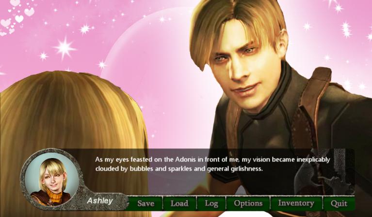Resident Evil 4 se convierte en una novela visual de tintes románticos