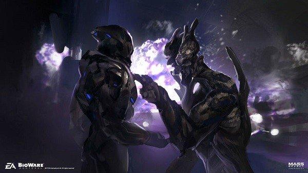 Mass Effect: Andromeda revela parte de su arte conceptual