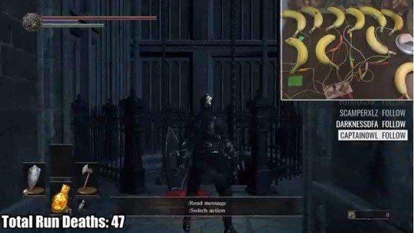 Dark Souls 3 cuenta con un jugador que lo ha terminado jugando con plátanos