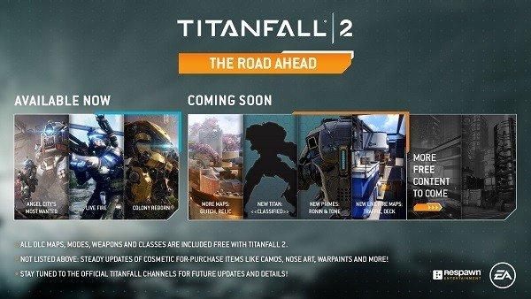 Titanfall 2 presenta su próxima actualización: The Road Ahead