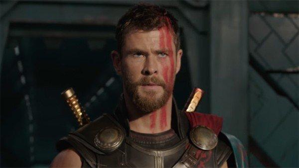 Resultado de imagen para Thor (Chris Hemsworth) en infinity war