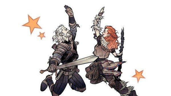 The Witcher: Geralt de Rivia y Aloy se encuentran al fin en la vida real