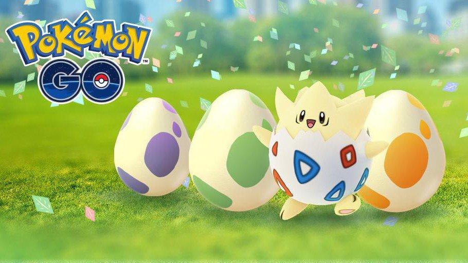 Pokémon GO actualiza la lista de Pokémon que aparecen en los huevos de 2 kilómetros