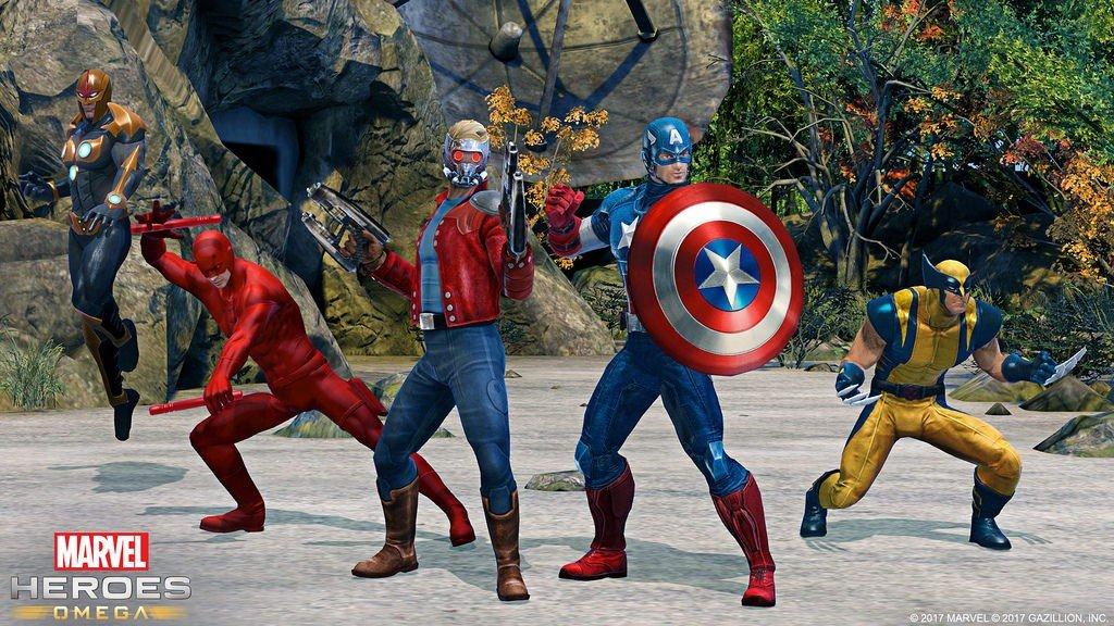 Marvel Heroes Omega contará con cooperativo local