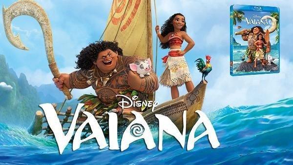 Vaiana: Análisis de la edición en Blu-Ray