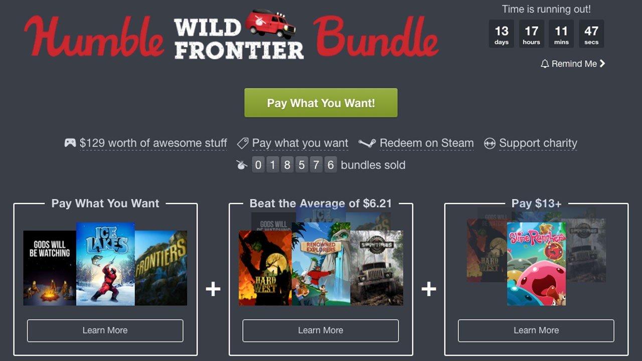 Humble Bundle pone a tu disposición otra oleada de juegos por muy poco dinero