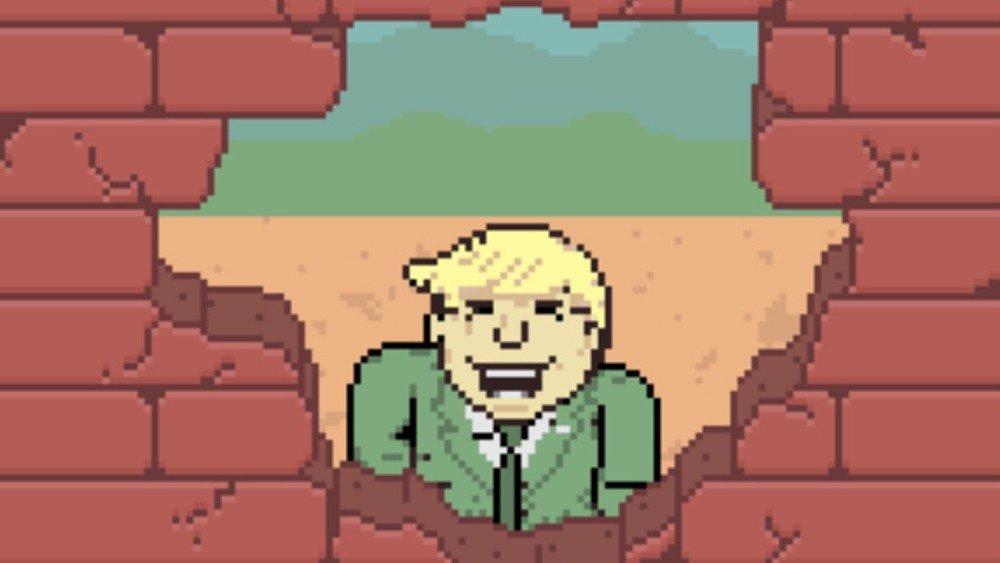 Donald Trump protagoniza un nuevo videojuego satírico