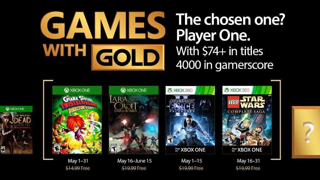 Games with Gold desvela sus juegos gratuitos para mayo de 2017