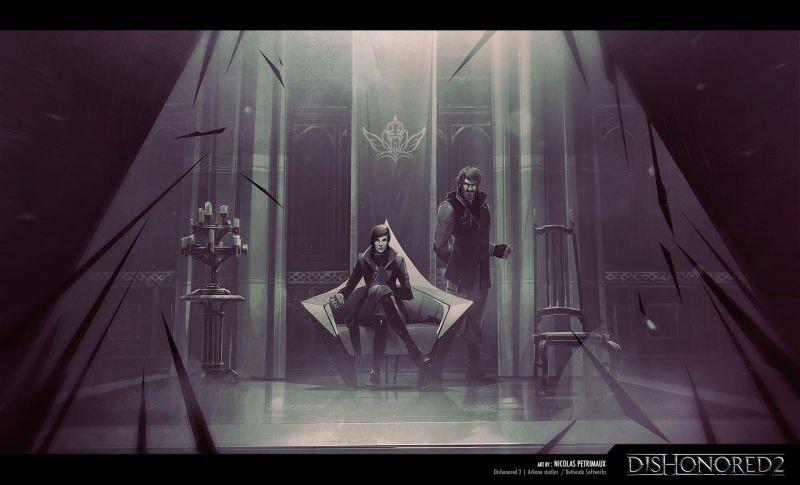 Dishonored 2: Así es el increíble arte tras el juego de Arkane Studios