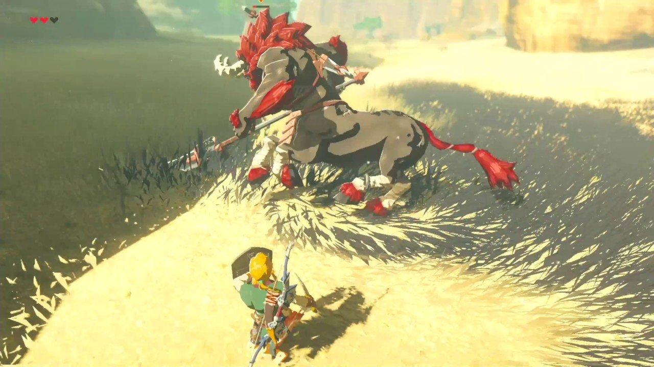 The Legend of Zelda: Breath of the Wild: Vencen a uno de sus enemigos más poderosos con una estantería