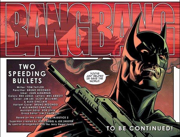 El nuevo cómic de Injustice revela importantes acontecimientos sobre Batman