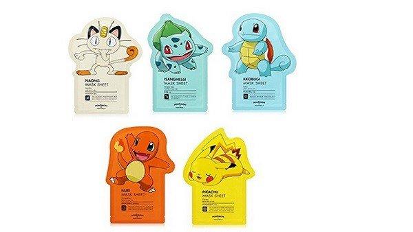 Pokémon lanza su línea de productos cosméticos junto a Tony Moly