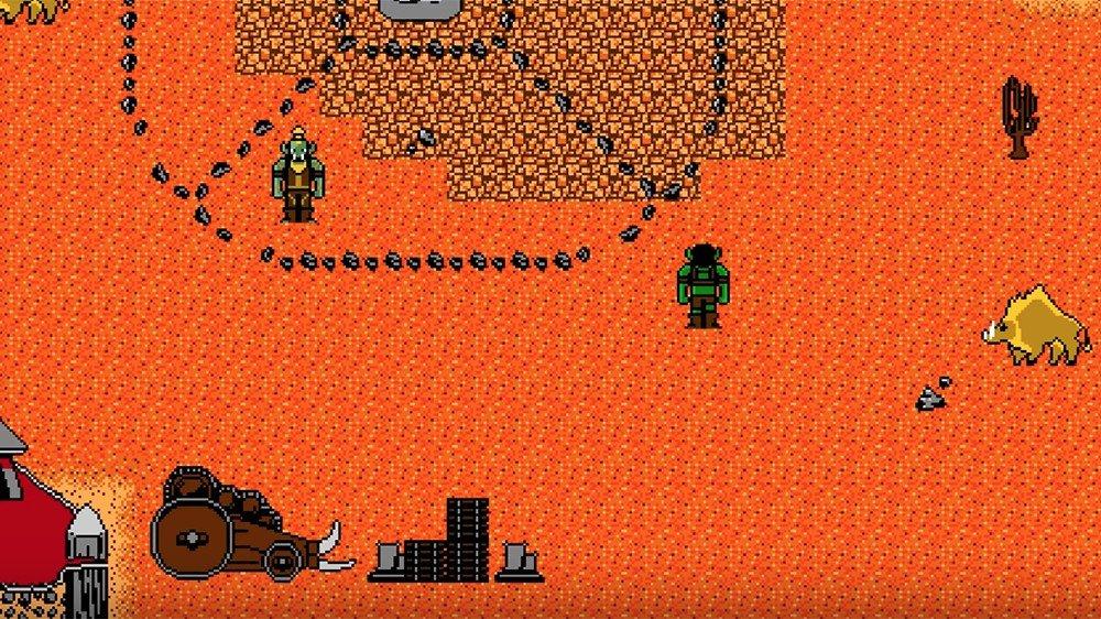 World of Warcraft luciría así como un juego de NES