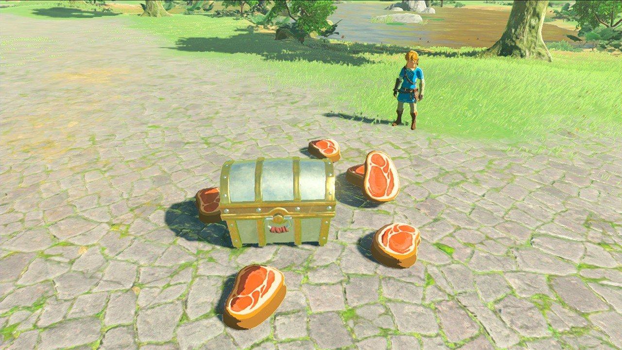 The Legend of Zelda: Breath of the Wild: Consiguen abrir el cofre imposible