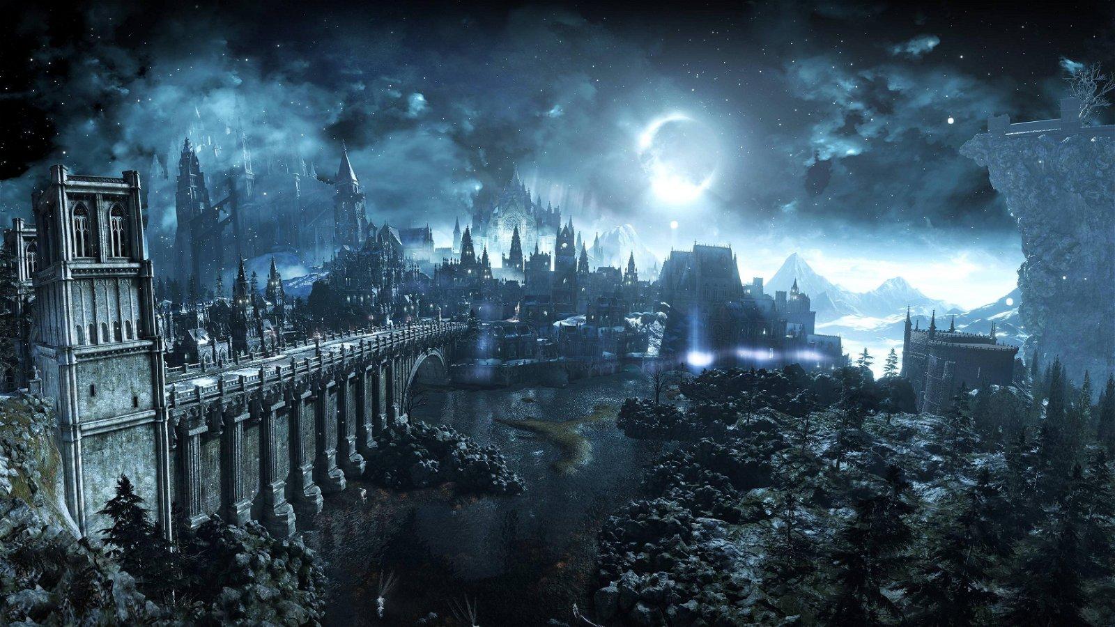 Dark Souls 3 se inspiró en lugares reales para crear su mundo