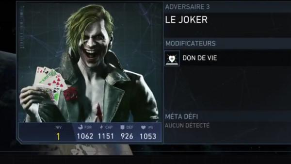 Injustice 2: El Joker se muestra en un vídeo filtrado