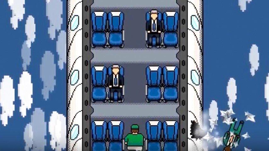 Un videojuego parodia el polémico desalojo del pasajero de un avión de United Airlines