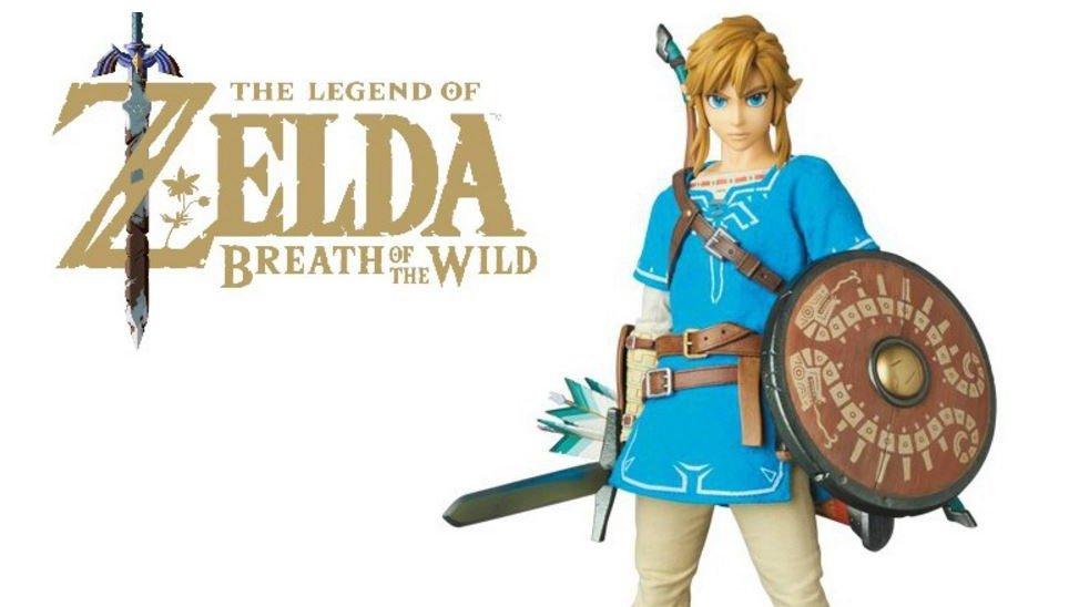 The Legend of Zelda: Breath of the Wild: Así es la carísima y espectacular figura de Link