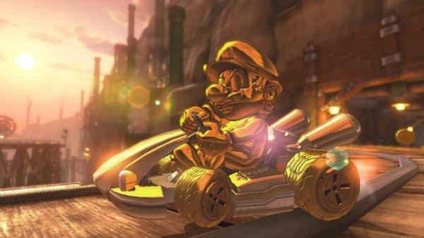 Mario Kart 8 Deluxe: Así puedes desbloquear a Mario Dorado