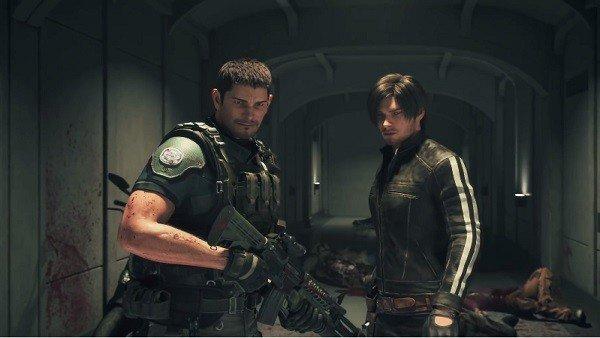 Resident Evil: Vendetta muestra a Chris Redfield y Leon Kennedy en acción