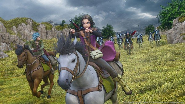 Dragon Quest XI presenta nuevos detalles sobre las monturas