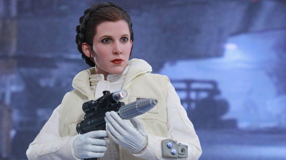 Star Wars presenta una nueva figura hiperrealista de la princesa Leia