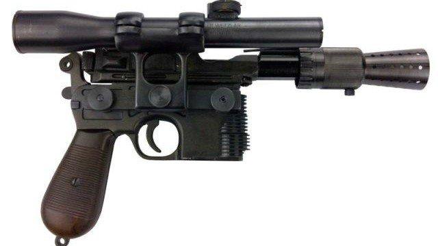 Star Wars: La mítica pistola de Han Solo tiene una réplica espectacular