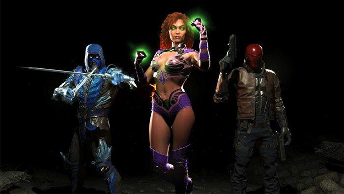 Injustice 2 presenta a los tres personajes que incluirá su primer DLC